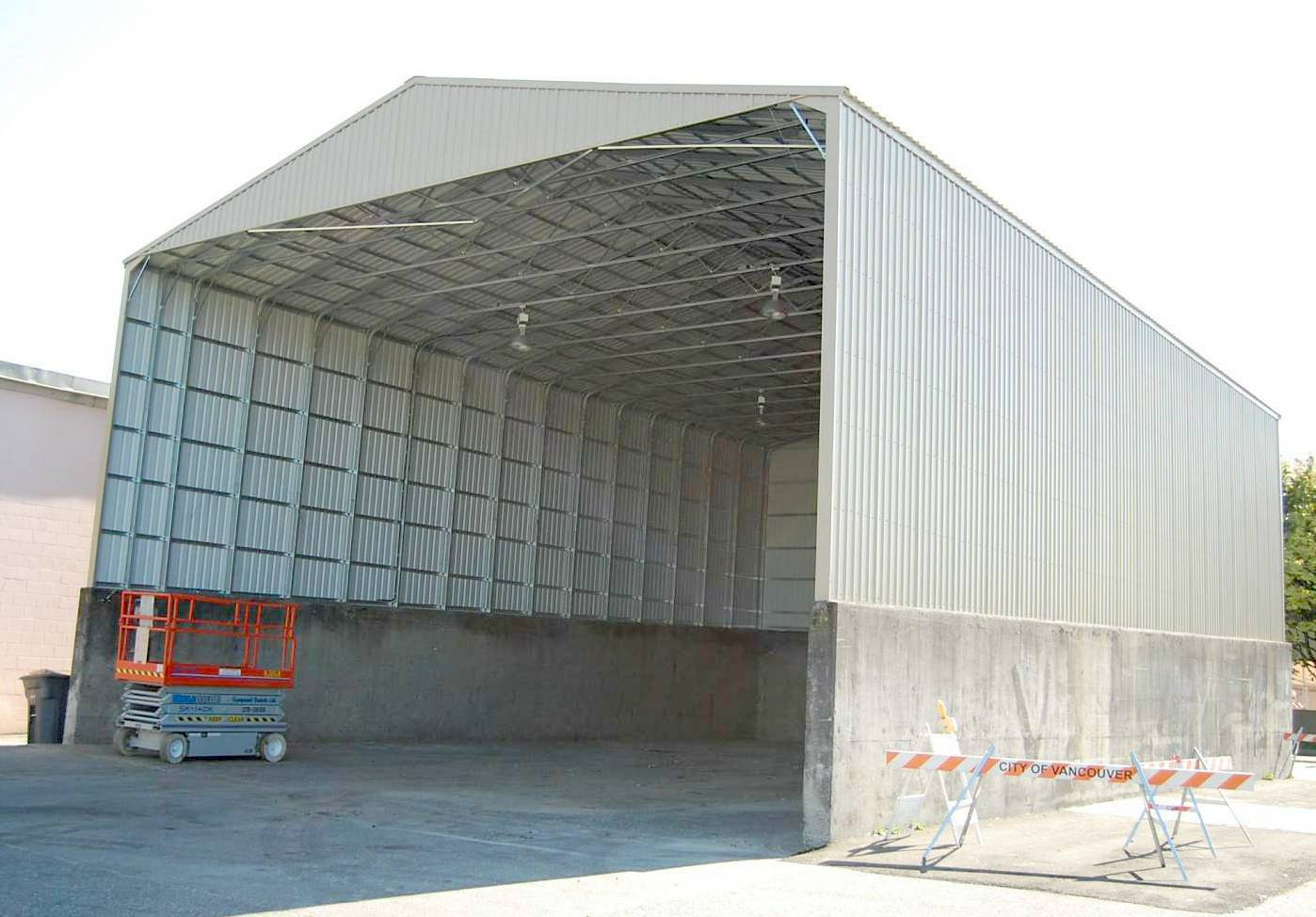 wide span shed instructions