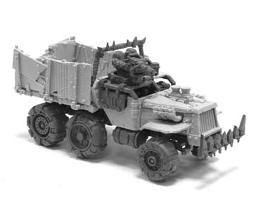 ork trukk building instructions
