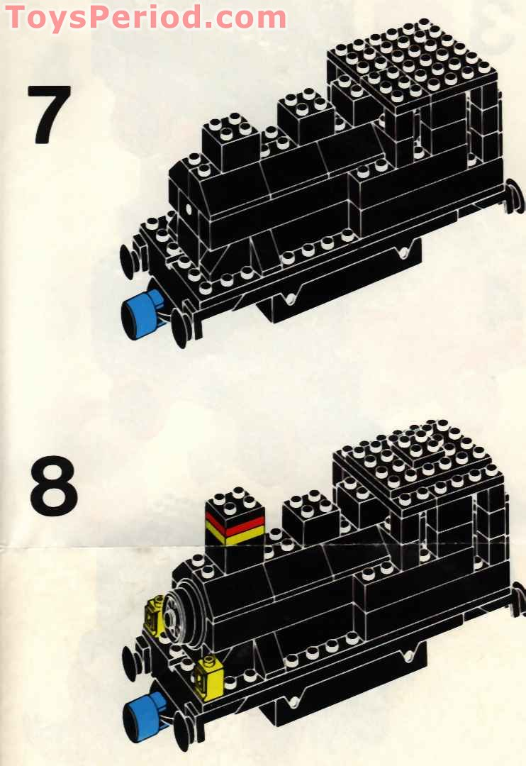 lego 12v train instructions