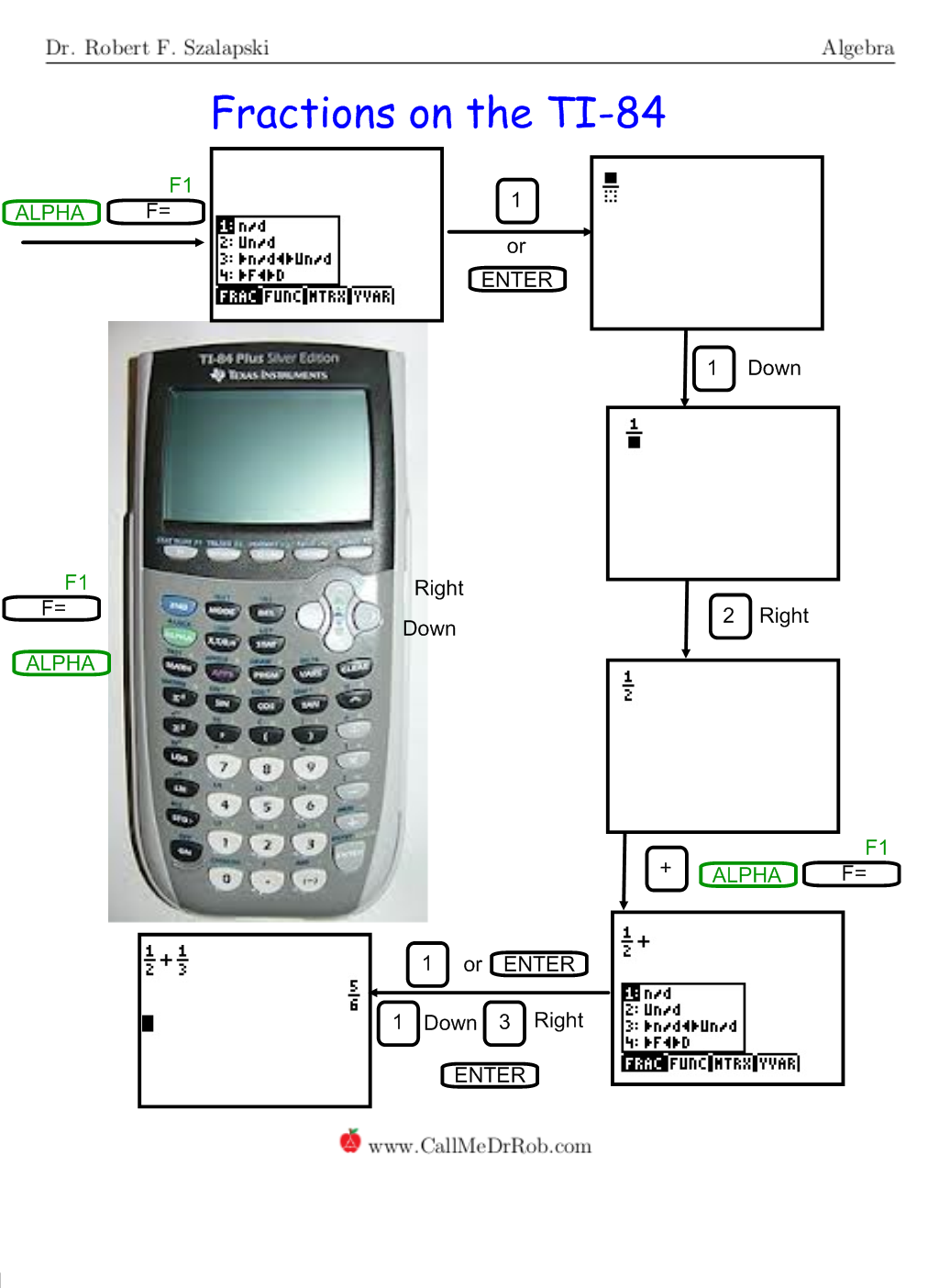 ti 84 plus silver edition calculator instructions