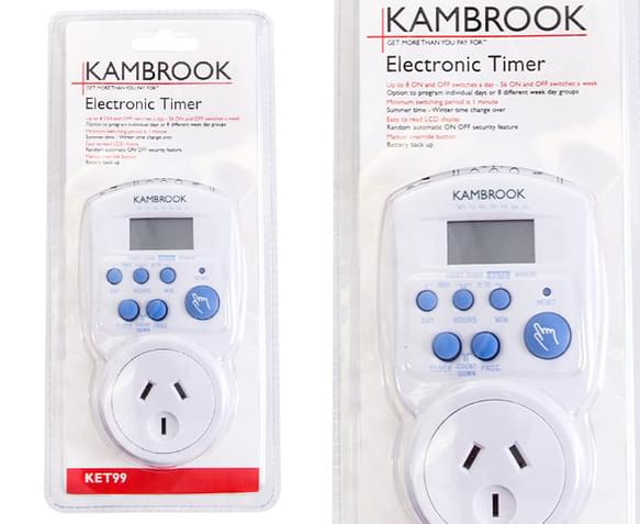 instructions for kambrook kd86