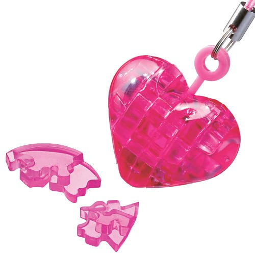bepuzzled 3d crystal puzzle heart instructions