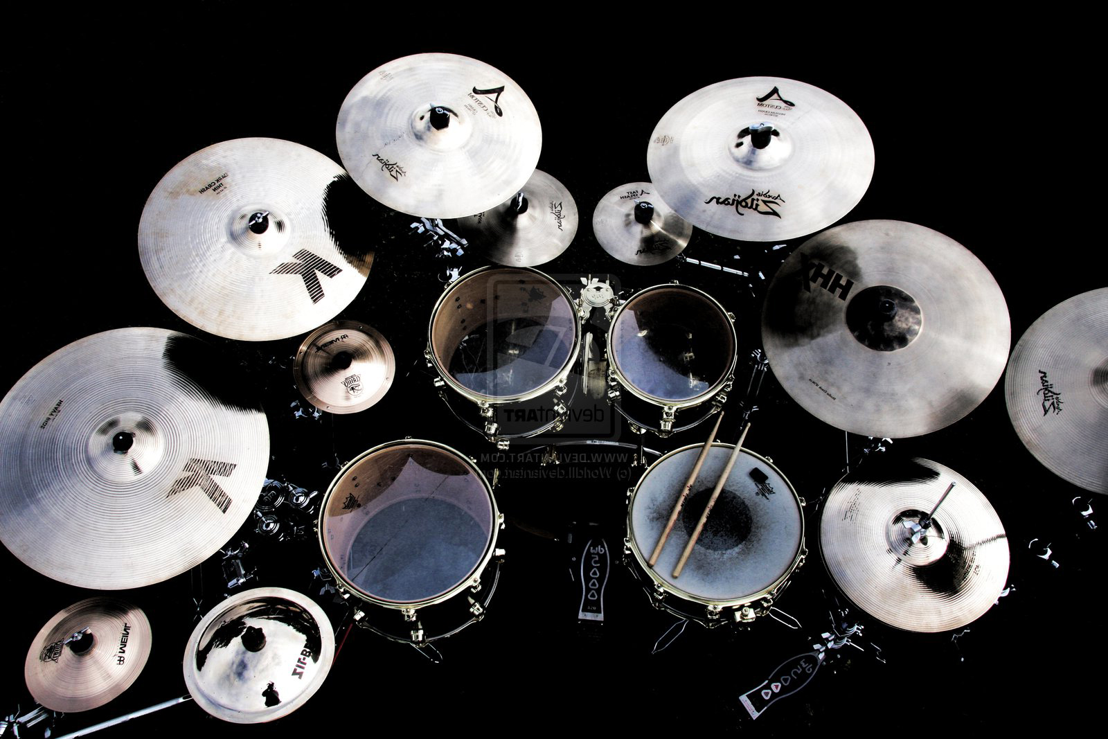 desktop drum kit instructions