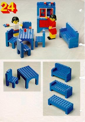 lego instructions on how to build a puzzle