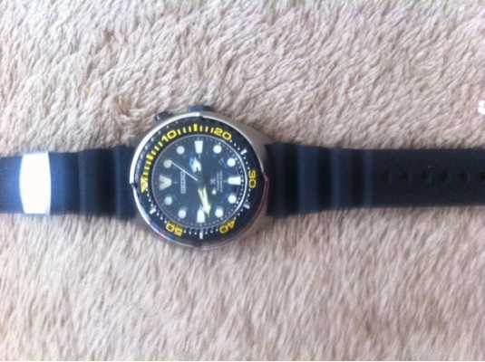 seiko kinetic divers watch instructions