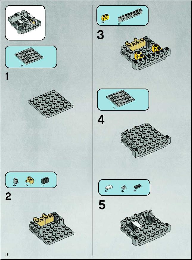 lego 7658-1 instructions