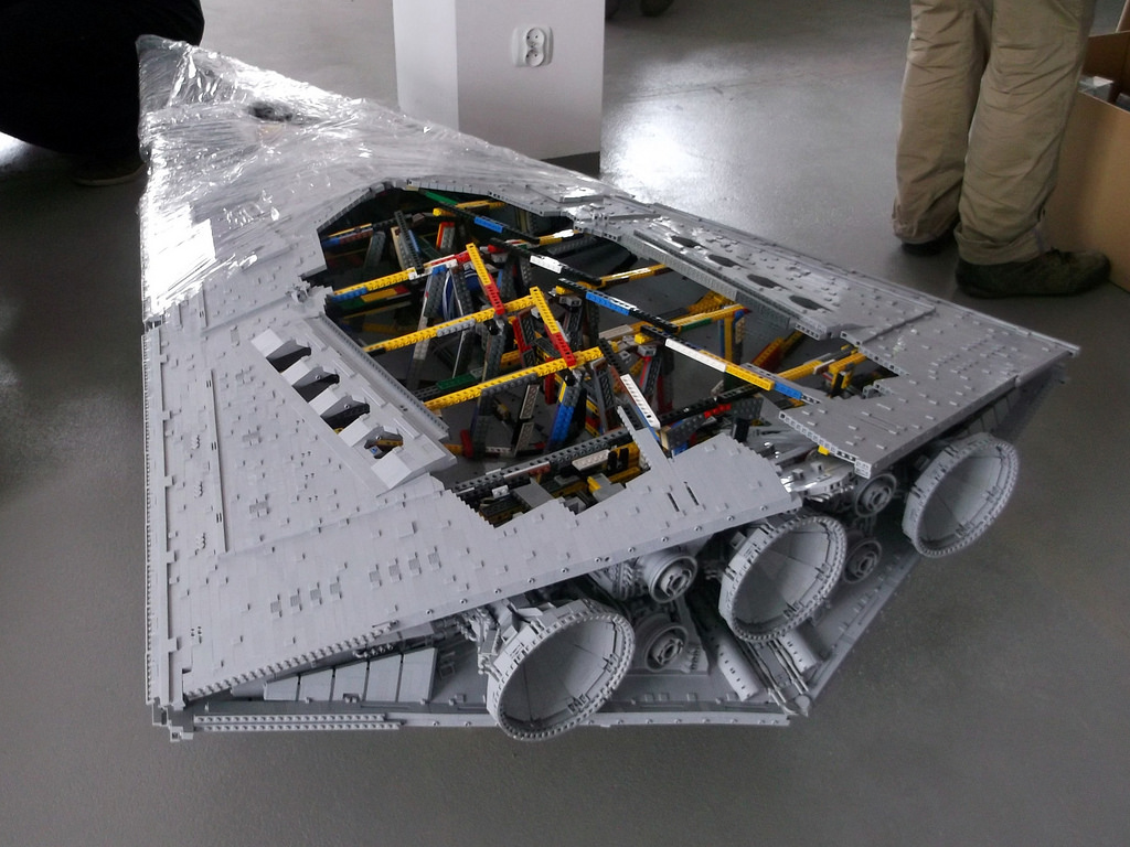 building millennium falcon instructions life size not lego