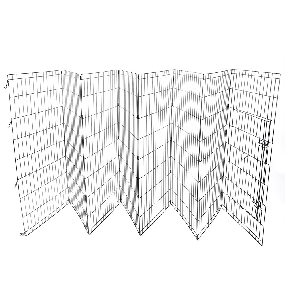 8 panel pet pen instructions