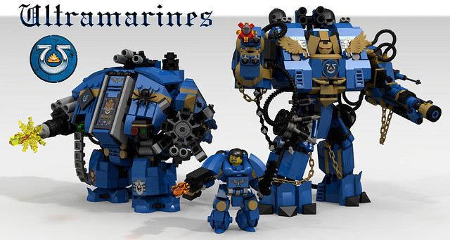 lego space marine dreadnought instructions