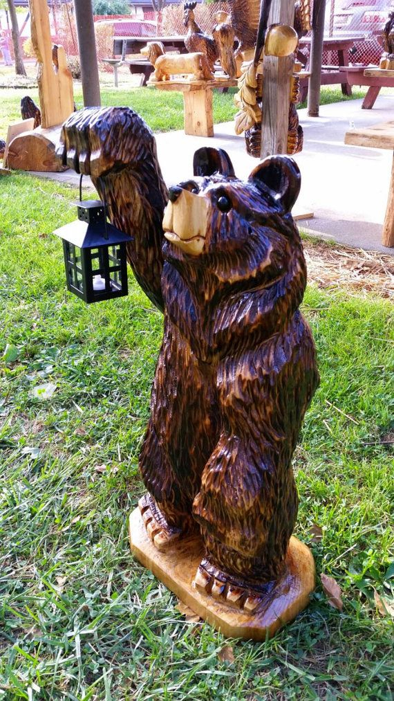 bear chainsaw carving instructions