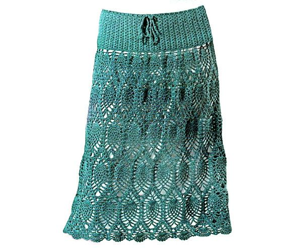 crochet skirt with instructions
