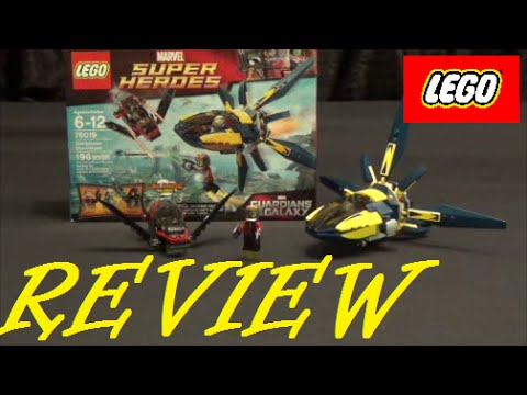 lego guardians of the galaxy starblaster showdown instructions