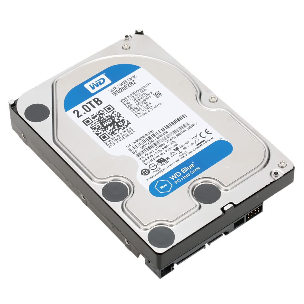 wd blue 2tb instruction manual