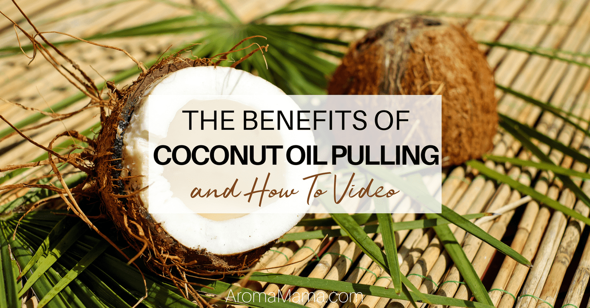 oil pulling instructions coconut oil