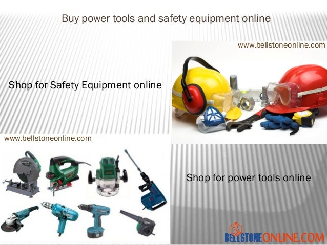 safe work instructions power tools