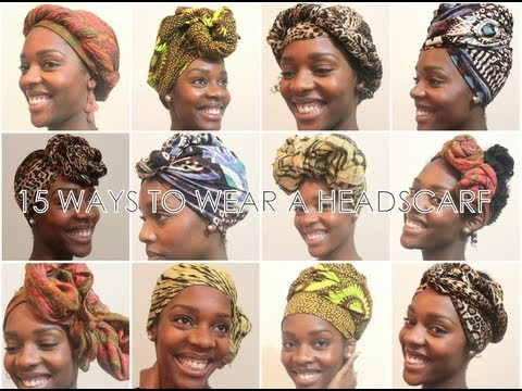 hair wrap instructions step by step