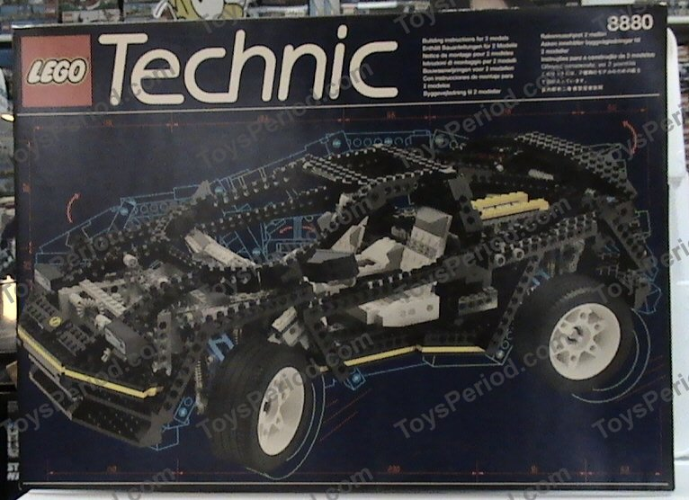lego technic car 8880 instructions
