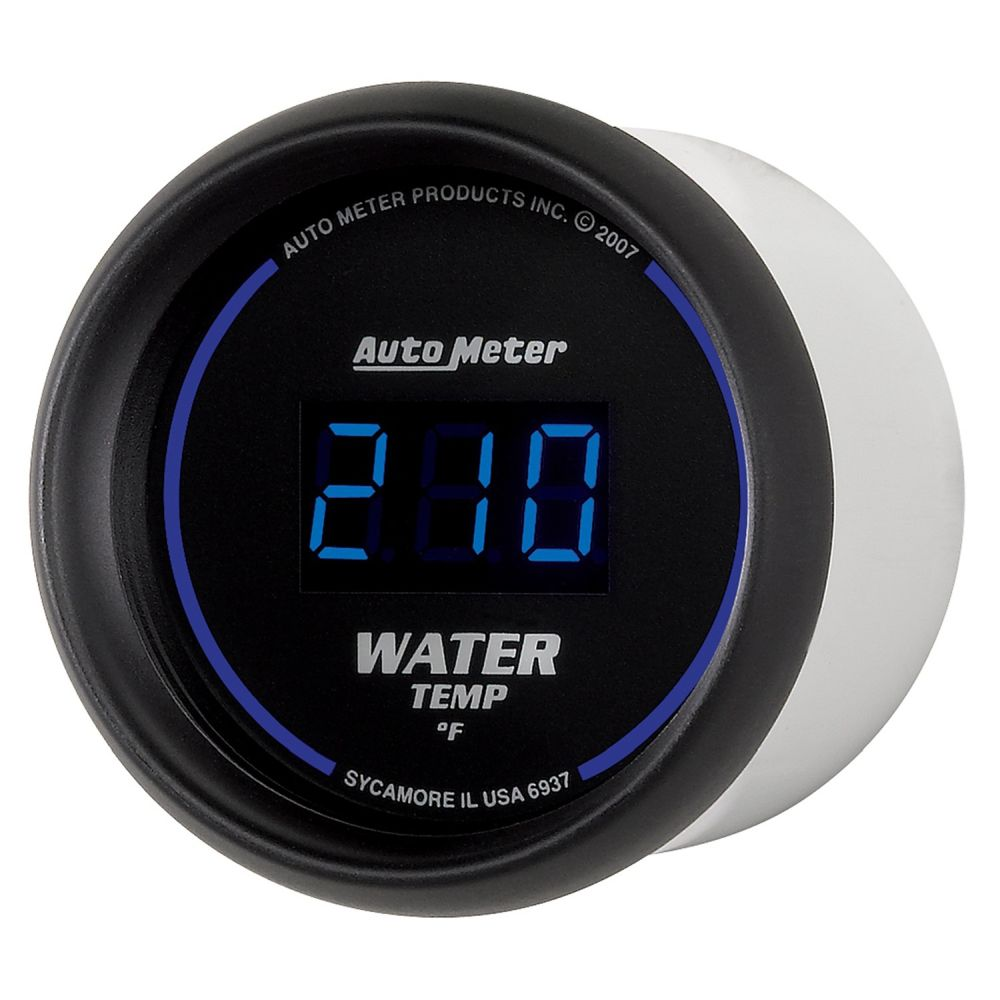 autometer water temp gauge instructions