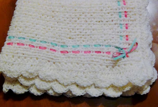 knifty knitter baby blanket instructions