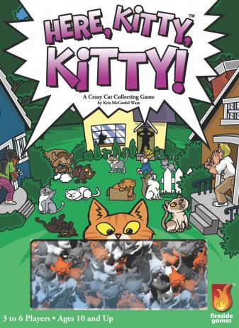 feed the kitty board game instructions