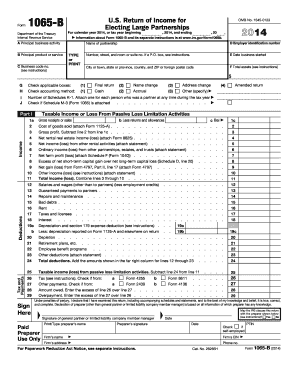 2014 form 1065 instructions