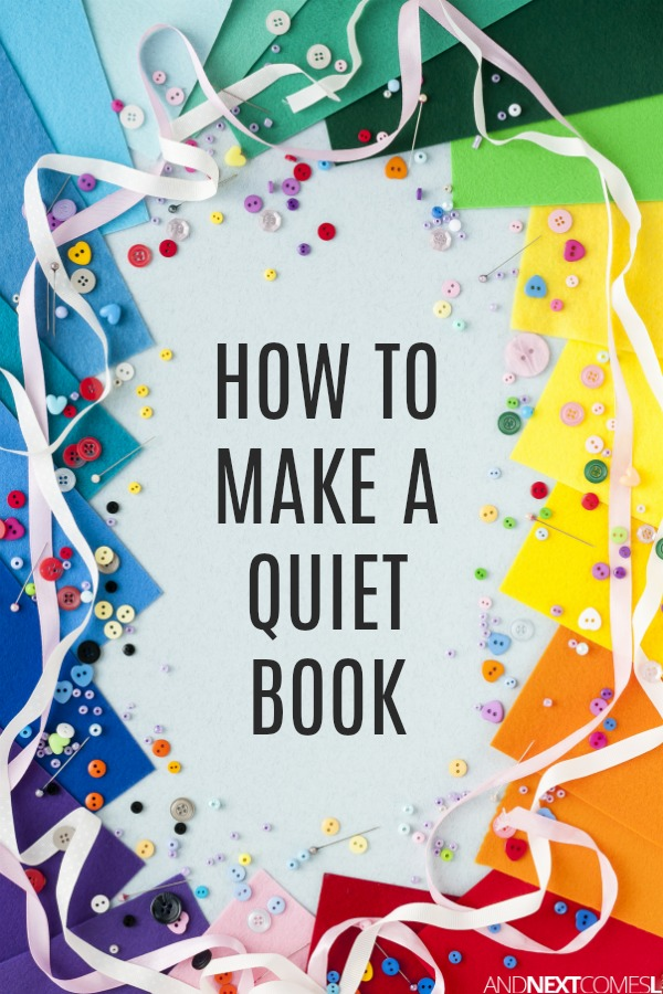 instructions for making a hand made book