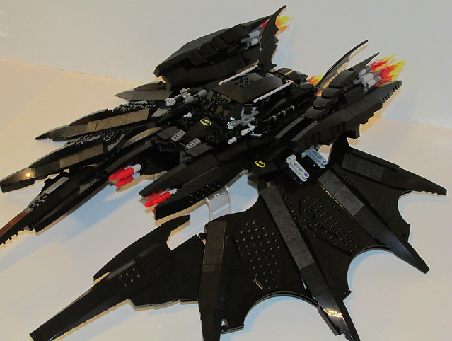 the batwing lego instructions