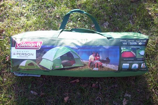coleman 9 person tent instructions