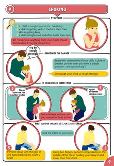 infant cpr instruction sheet