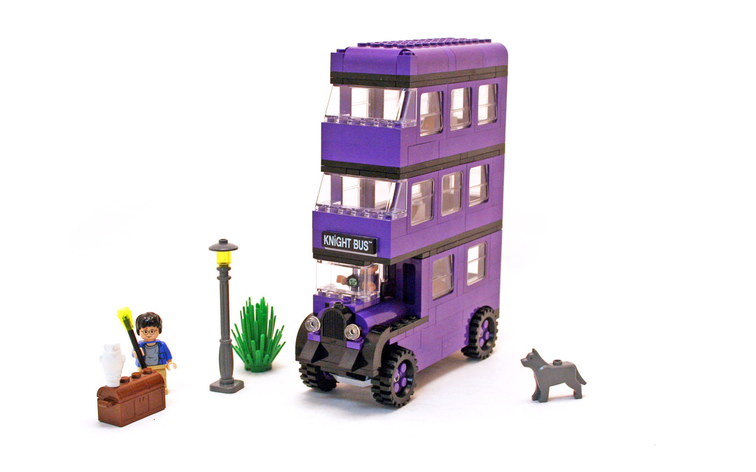 lego harry potter knight bus building instructions