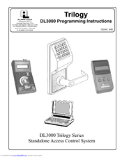 trilogy dl3000 programming instructions