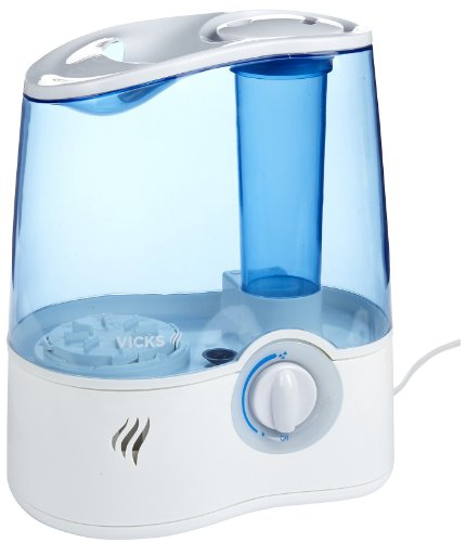 vicks ultrasonic humidifier v5100 instructions