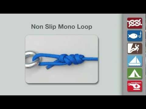 how to tie a slip knot instructions