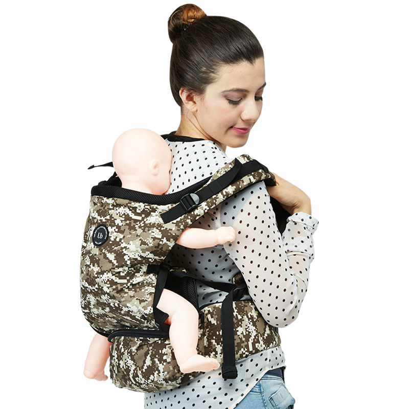 unity baby carrier shoulder harness instructions