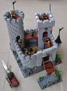 lego minecraft stronghold instructions
