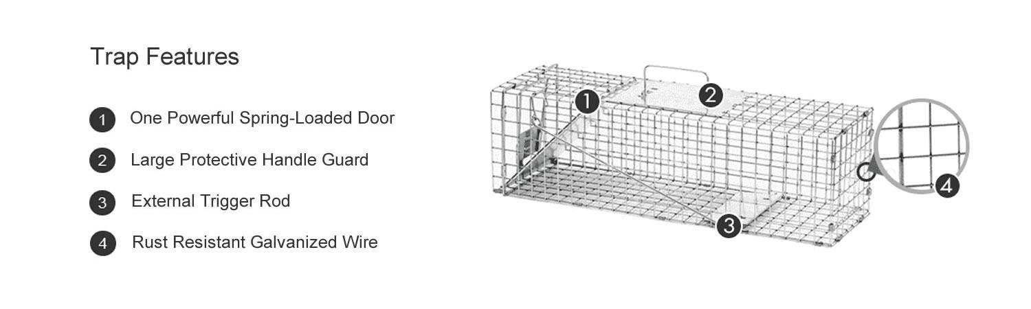 havahart squirrel trap instructions
