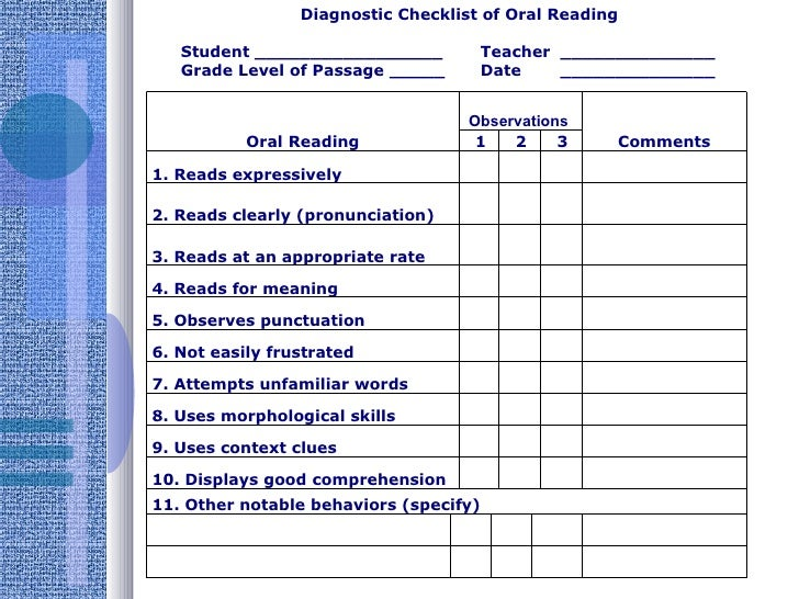 instruction that use formal and informal assessment