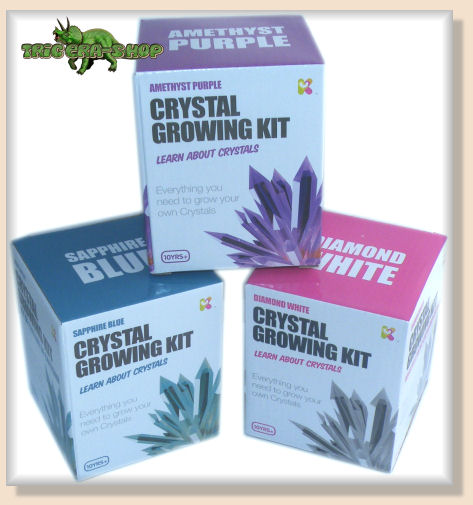 instruction for crystal growing kit is gift