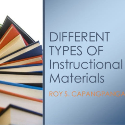 principles of instructional materials