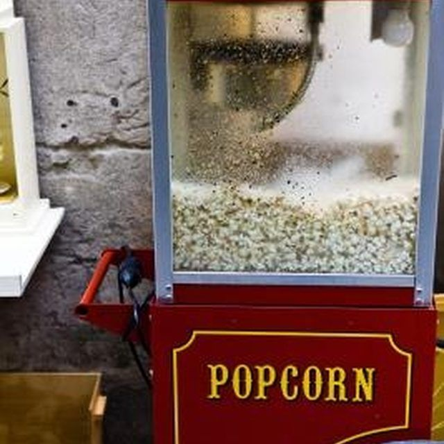 funtime popcorn machine instructions