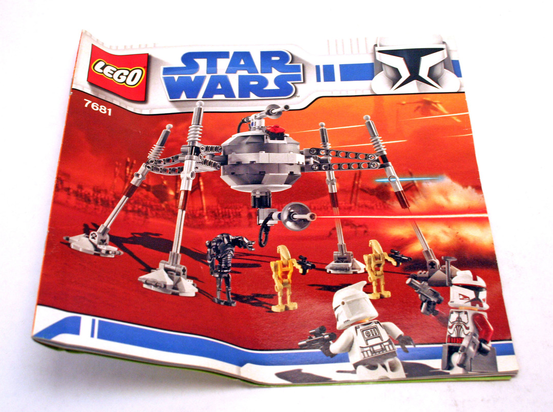 lego star wars separatist spider droid instructions