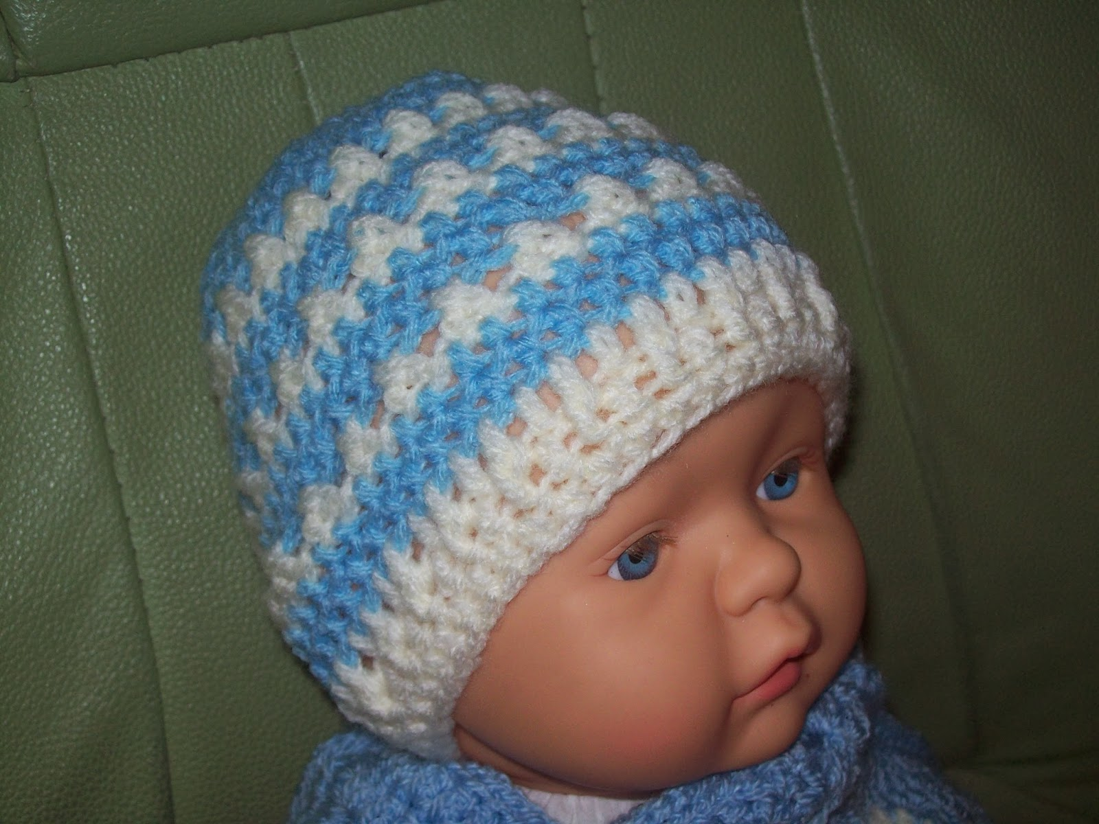 crochet instructions for baby hats