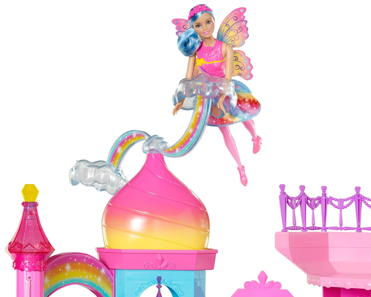 barbie rainbow castle instructions