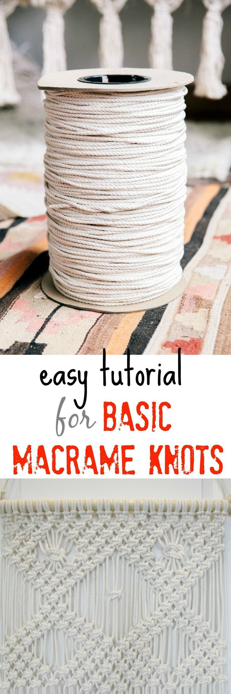 macrame wall hanging patterns and instructions