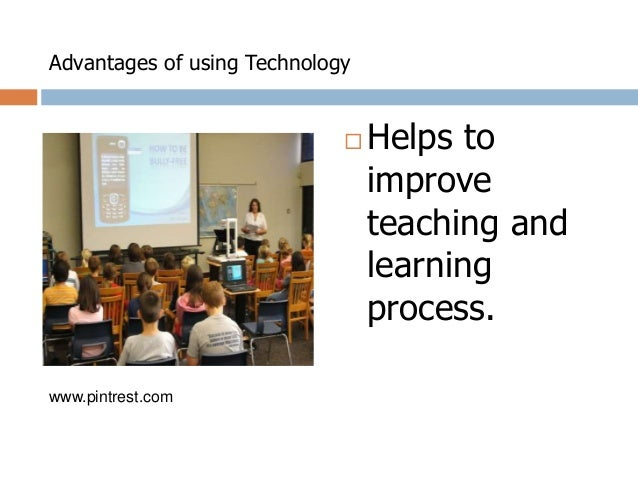 advantages and disadvantages of instructional technology
