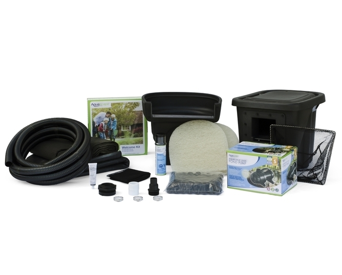 aquascape pond kit instructions