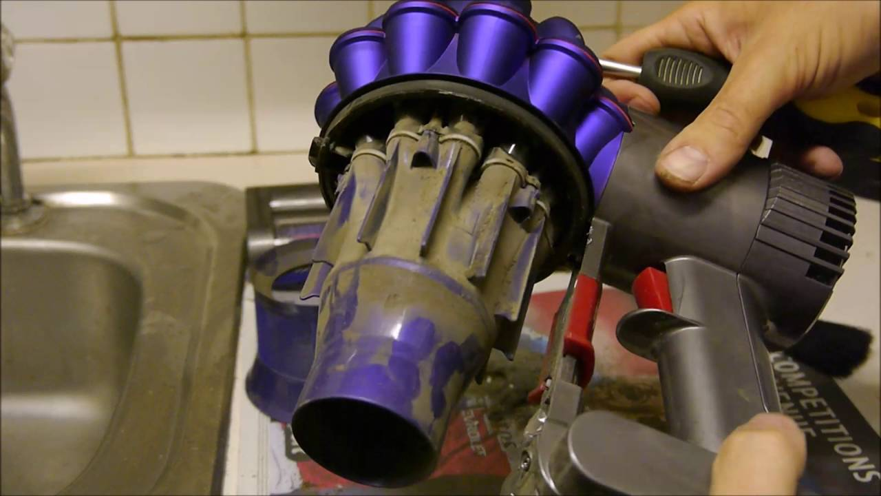 dyson disassembly instructions sv03