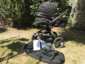 mothercare spin pushchair instructions