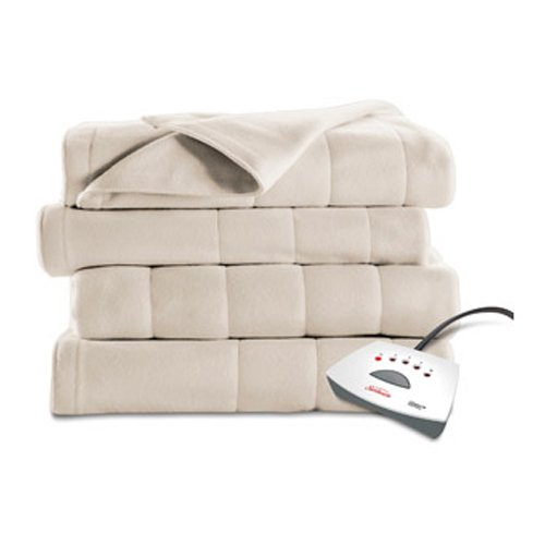 sunbeam heated fleece electric blanket instructions
