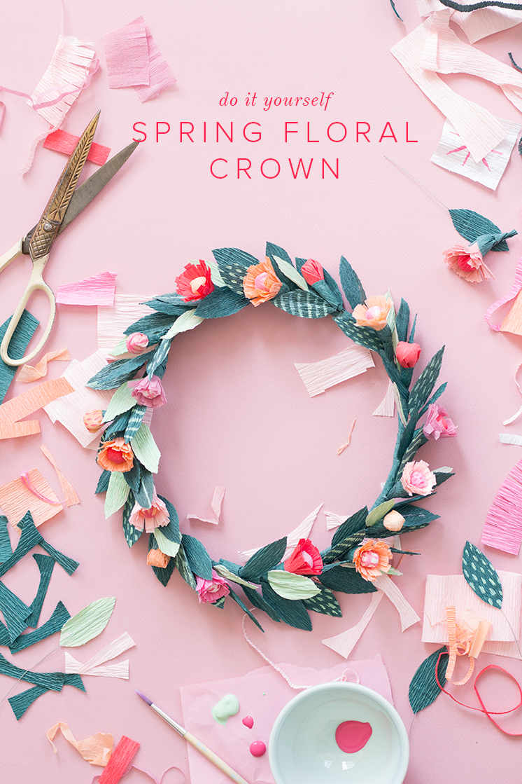 diy flower crown instructions